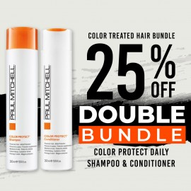 25 % off Color Protect Daily Shampoo and Color Protect Daily Conditioner