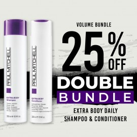 25 % off Extra Body Daily Shampoo and Extra Body Daily Conditioner
