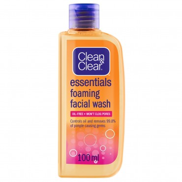 Clean And Clear Essentials Foaming Facial wash 100ml