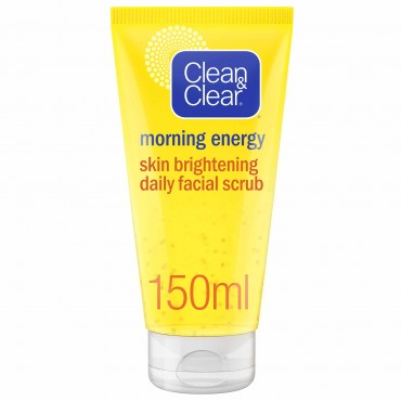 Clean And Clear Morning Energy Bright Scrub 150ML