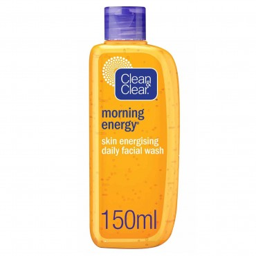 Clean And Clear Morning Energy Skin Energising Daily Facial Wash 150ml
