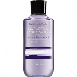 Bath and Body Works Signature Collection Lavender and Sandalwood Shower Gel