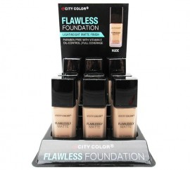 CITY COLOR FLAWLESS MATTE FOUNDATION