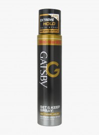 Gatsby Set And Keep Spray Extreme Hold