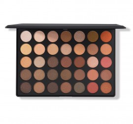 Morphe 350S 35-Color Shimmer Nature Glow Eyeshadow Palette