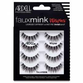 Ardell Faux Mink Lashes 4 Pack-Wispies