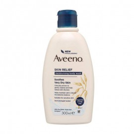 Aveeno Body Wash Soothes Skin Relief - 300Ml