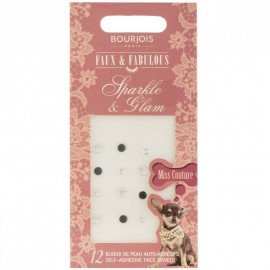 Bourjois Sparkle & Glam Face Jewels 12 Sels-Adhesive Jewels Carded