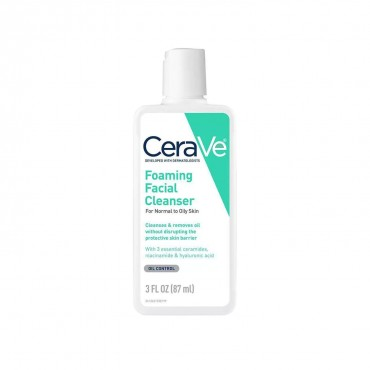 CeraVe Foaming Facial Cleanser Normal to Oily Skin 87ml