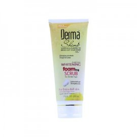 Derma Shine Whitening Foaming Scrub