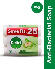 Dettol Soap 85 gm Soothe 3 soaps save Rs 25