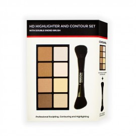 Freedom HD Highlight & Contour Set With Double End Brush