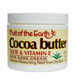Fruit Of The Earth Cocoa Butter Cream 4Oz -