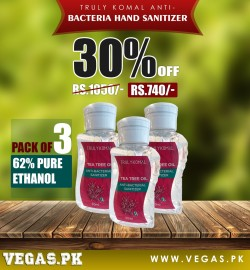 Hand Sanitizer Pack of 3