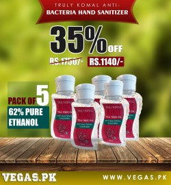 Hand Sanitizer Pack of 5