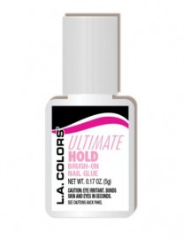 LA Colors Ultimate Hold Brush On Nail Glue Pink
