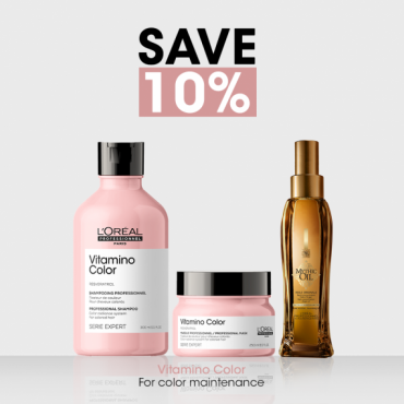 L'Oreal Professionnel Vitamino 10% Off Bundle For Color Treated Hair