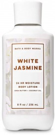 Bath and Body Works 24 Hour Moisture White Jasmine Body Lotion with Shea Butter & Coconut Oil - 236ml