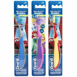 Oral-B Stages 3 (5–7 Years) Kids Toothbrush