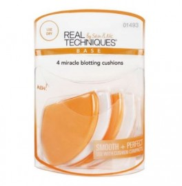 Real Techniques 4 Miracle Blotting Cushions