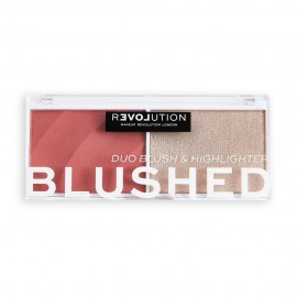 Revolution Relove Colour Play Blushed Duo Cute