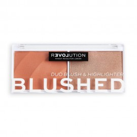 Revolution Relove Colour Play Blushed Duo Queen