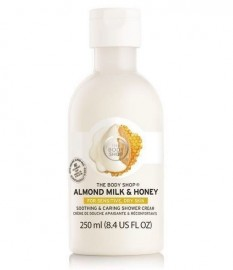The Body Shop Almond Milk Honey Soothing Caring Shower Cream