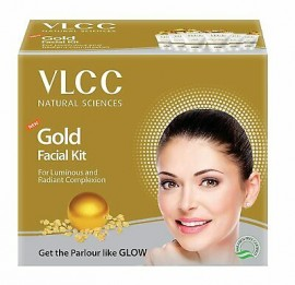 VLCC Gold Facial Kit For Luminous And Radiant Complexion